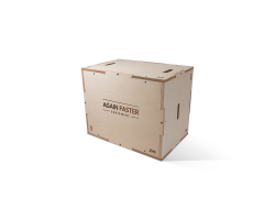 Again Faster® Wooden Plyo Box