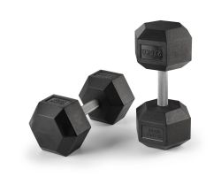 Hex Dumbbells Rubber Coated