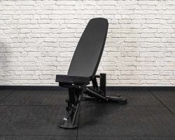 Again Faster Black Team Plus Adjustable Weight Bench