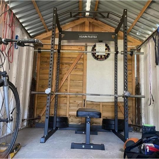 Small Home Gym in a Shed